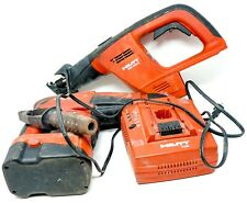 Hilti WSR 650-A Reciprocating Saw / TE 2-A Rotary Hammer Drill + Charger/Battery