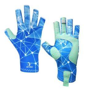 Savior Fishing Gloves Fingerless Outdoor Non-Slip Glove Camping Mitten Size S