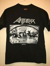ANTHRAX 'Sound Of White Noise' 1993 Tour Rare Vintage T-Shirt Large US made