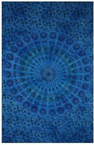 Tie Dye Mandala Indian Wall Decor Hippie Tapestries Bohemian Tapestry Wall Decor