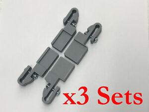 12 IKEA Detolf Adapter Shelf Clips ~USA Shiip~