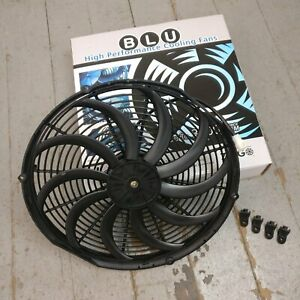 1948 Ford Deluxe 16 Inch Super Duty Radiator Fan cooling electric racing skinny