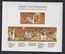 Australia Scott 882a Xf Mnh & Fdc 1970 Captain Cook Souvenir Sheets Scv $22