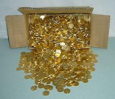 1000  ++NEW++  GOLDEN SLOT MACHINE TOKENS / COINS