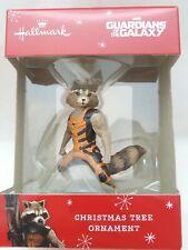Hallmark Marvel Guardians of the Galaxy Rocket Raccoon Christmas Ornament New