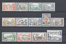 NIGERIA 1953 SG 69/80 MNH Cat £80