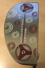 TOUR ISSUE RARE ODYSSEY MILLED COLLECTION 6M PUTTER WITH BLACK SHAFT AND HEAD CO