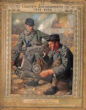Mitrailleurs Gunners Bataille la Marne Poilus Soldats de Lucien Jonas 1914 WWI