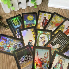 78 Rider Waite Tarot Cards Deck Vintage Colorful Box Future Telling Game Cards
