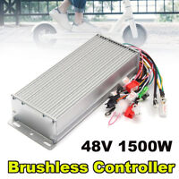 1500W Brushless Motor Controller For Electric Hall eBike Bicycle Scooter 48V