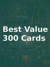 Best Value Pokemon Lot 300 cards incl. EX/GX/V Starter Kit Great Collection