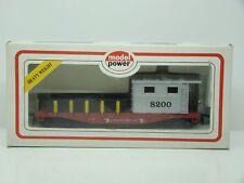 MODEL POWER - HO - 40' - WORK CABOOSE 8200 - NEUF - BOITE -