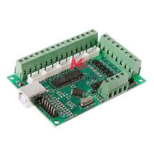 Cnc Usb Mach3 100khz Breakout Board 5 Axis Interface Driver Motion Control C2u6