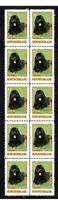 NEWFOUNDLAND MAN BEST FRIEND STRIP OF 10 MINT VIGNETTE STAMPS #1
