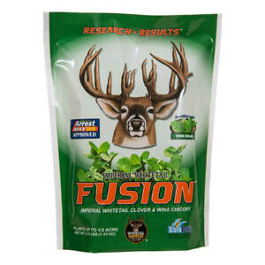 Imperial Whitetail Fusion Whitetail Institute Deer Plot Seed Food Plot Mix NEW