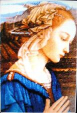 MADONNA IN BLUE ~ NEW Counted Cross Stitch KIT ~ #ML187