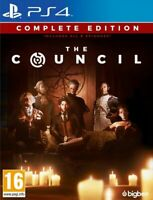 The Council Complete Edition (PS4 PLAYSTATION 4 VIDEO GAME) *NEW/SEALED*
