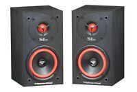 """One Pair Cerwin Vega SL-5M Bookshelf Speakers 5 1/4"""" 2-Way Set Theater Brand New"""
