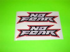CR CRF YZ YZF KX KXF RM RMZ 85 100 125 250 450 NO FEAR MOTOCROSS 5 INCH STICKERS