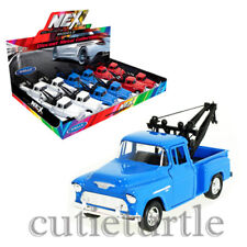 "Welly 4.75"" Chevrolet Stepside Tow Truck Diecast Display Model Toy Car 43765D"