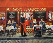 An Evening in Paris - Giclee, Artwork Reproduction, Print, Realism