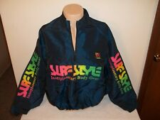 Vtg 1980s Surf Style Interplanetary Gear Nylon Pullover Jacket One Size Fits All