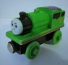Thomas Train Tank Engine, Percy #6 Green, wooden