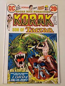 Korak Son of Tarzan #48. DC. Oct 1972. NM-9.2 or HIGHER! KALUTA KUBERT THORNE.