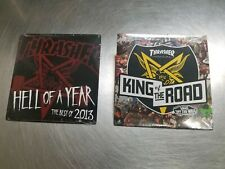 2 Thrasher Magazine Skateboard Dvds Video Hell of a Year 13 King of the Road 12