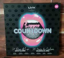 NEW NYX Lippie Countdown 24 Days Of Lip Advent Calendar 24pc Hot Holiday Gift