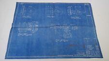 AntiqueBlueprint Industrial Art Detroit Automotive Ford Motor 1941 #5