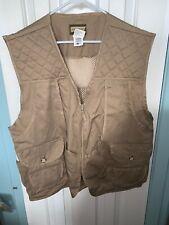 Vintage SAFTBAK Mens Bird Hunting Vest 2XL Khaki Game bag