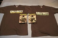 CALL OF DUTY: INFINITE WARFARE Promo BOX Modern Warefare 2 T-SHIRTS in L Size