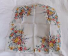 Vintage Handkerchief - Floral