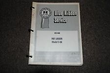 "INTERNATIONAL ""BLUE RIBBON"" S-9A PAY LOGGER SERVICE MANUAL (GSS-1406)"
