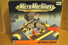 MICRO MACHINES STUNT SOUNDSTAGE ACTION SET (2001) VINTAGE SEALED NEAR MINT