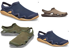 CROCS Swiftwater Mesh WAVE Army  Green, Navy Blue, Brown water Sandals Shoes