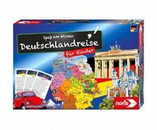 Noris 606071907 - Deutschlandreise für Kinder, Spaß am Wissen, Wissensquiz