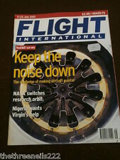 FLIGHT INTERNATIONAL # 4789 - HUSHKIT SURVEY - JULY 17 2001