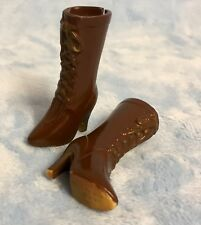 Pullip Veritas Stock Brown And Gold Boots Dal Doll Blythe