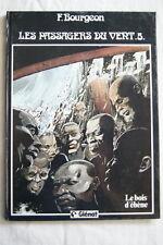 LES PASSAGERS DU VENT T5 LE BOIS D'EBENE FRANCOIS BOURGEON GLENAT 1985 BD