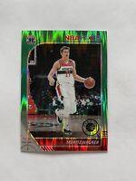 2019-20 Panini NBA Hoops Premium Stock Moritz Wagner Green Flash Prizm Card /99