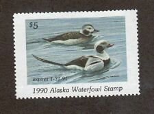 AK6 - Alaska State Duck Stamp. MNH. OG. Single #02 AK6