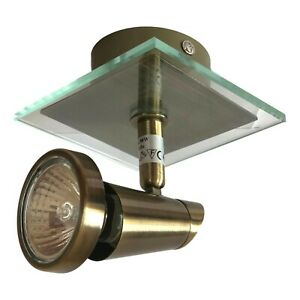 Spotlight Ceiling Wall light Dimmable Directional Accent Lighting & GU10 Globe