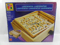 Labyrinth Pavilion Wooden Maze Skill Board Gamefor family and friends