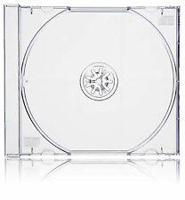 50 X SINGLE CD Jewel Case Transparent Plateau - 10.4 mm colonne vertébrale