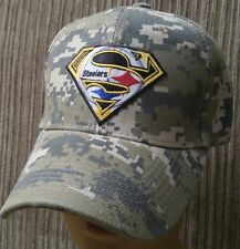 Pittsburg SUPER Steelers Camouflage NFL Team Baseball Cap Camo Football Hat