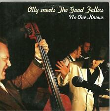 C4 promo cardboard sleeve 1 track cd single OLLY MEETS THE GOOD FELLAS NO ONE KN