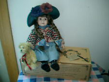 Boyds Yesterday's Child Doll Karen  Bear Numbered  Karen About 15 Inch High