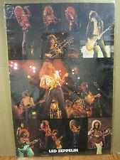 vintage Led zeppelin original Poster rock N roll 1982 2396